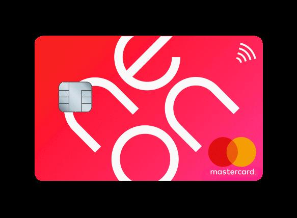Neon Mastercard