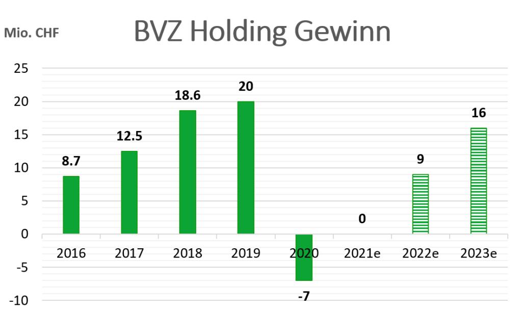 BVZ Aktie Gewinnwachstum