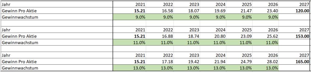 BVZ Holding Gewinnwachstum